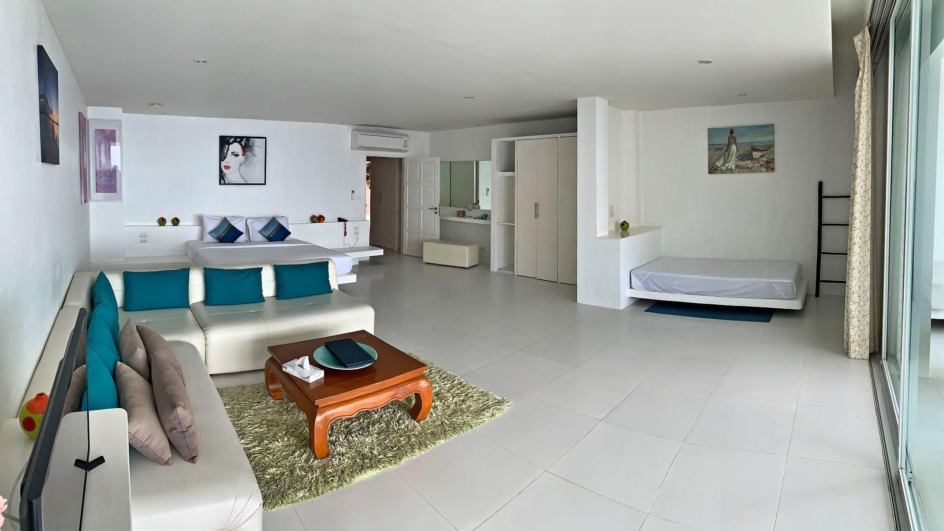 Grand Bleu Kamala Room No.423 วิลลา 2 ห้องนอน 2 ห้องน้ำส่วนตัว ขนาด 350 ตร.ม. – กมลา