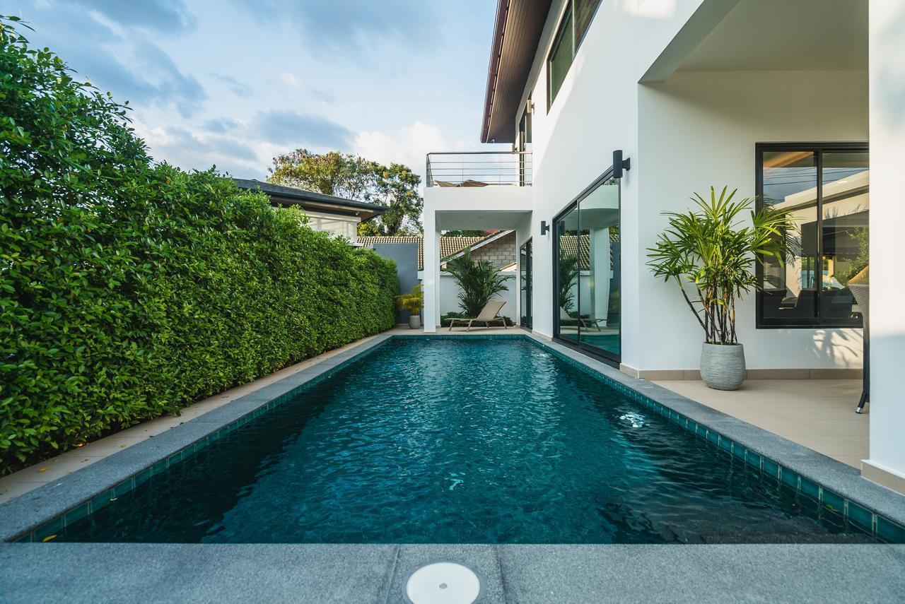 The White Pool Villa in Kamala Beach, Phuket