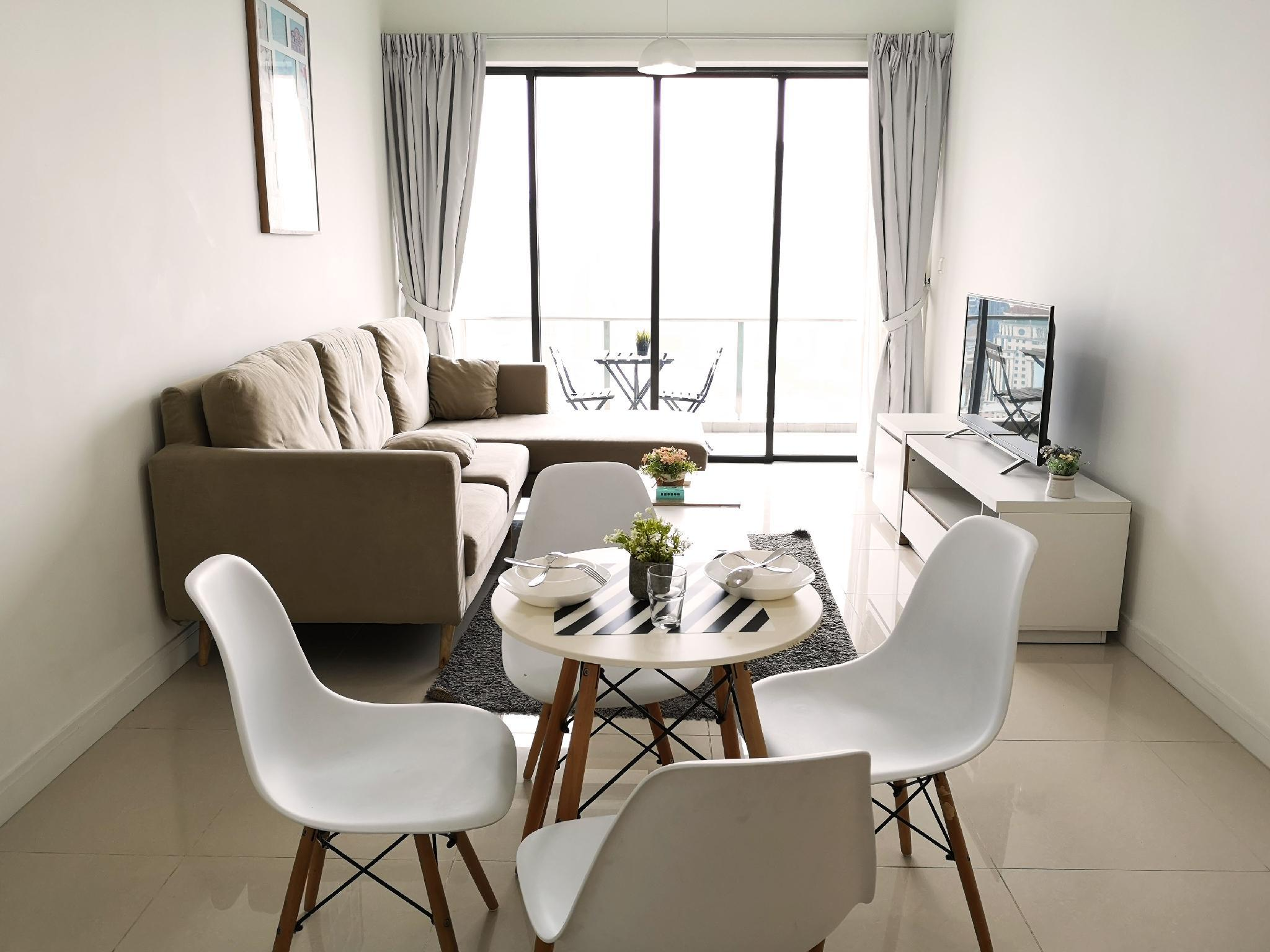 2BR Suite With Instagrammable View On KL TowersB12