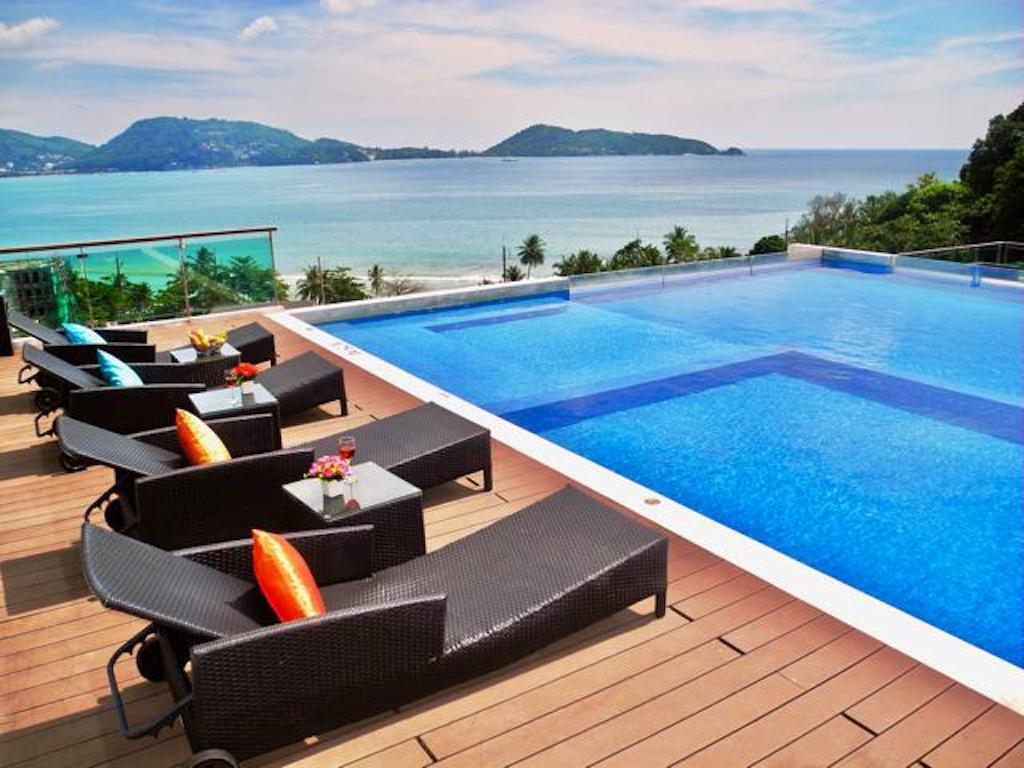 1 bedroom apartment overlooking Patong Bay อพาร์ตเมนต์ 1 ห้องนอน 1 ห้องน้ำส่วนตัว ขนาด 69 ตร.ม. – ป่าตอง