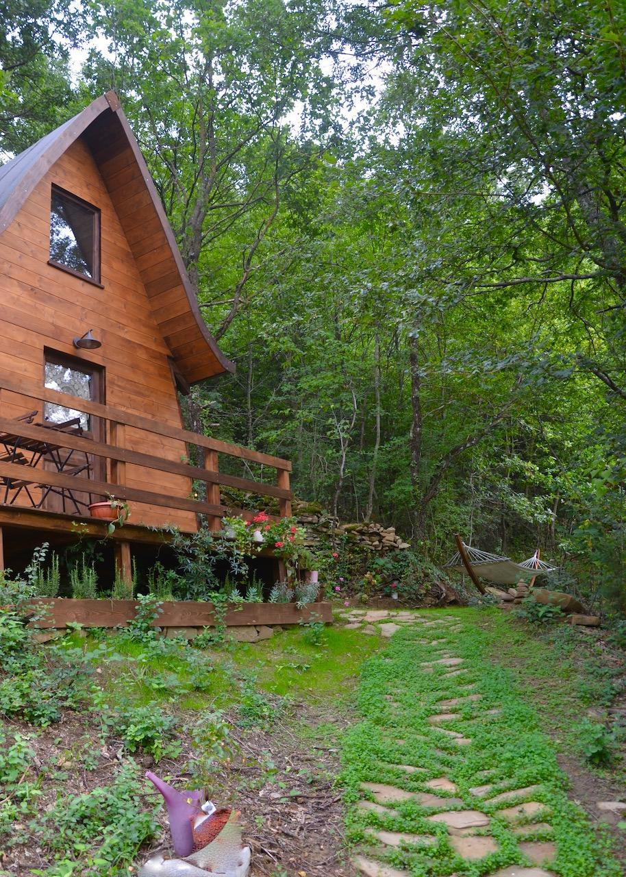 Romantic Cabin In The Forest On The Marche Hills