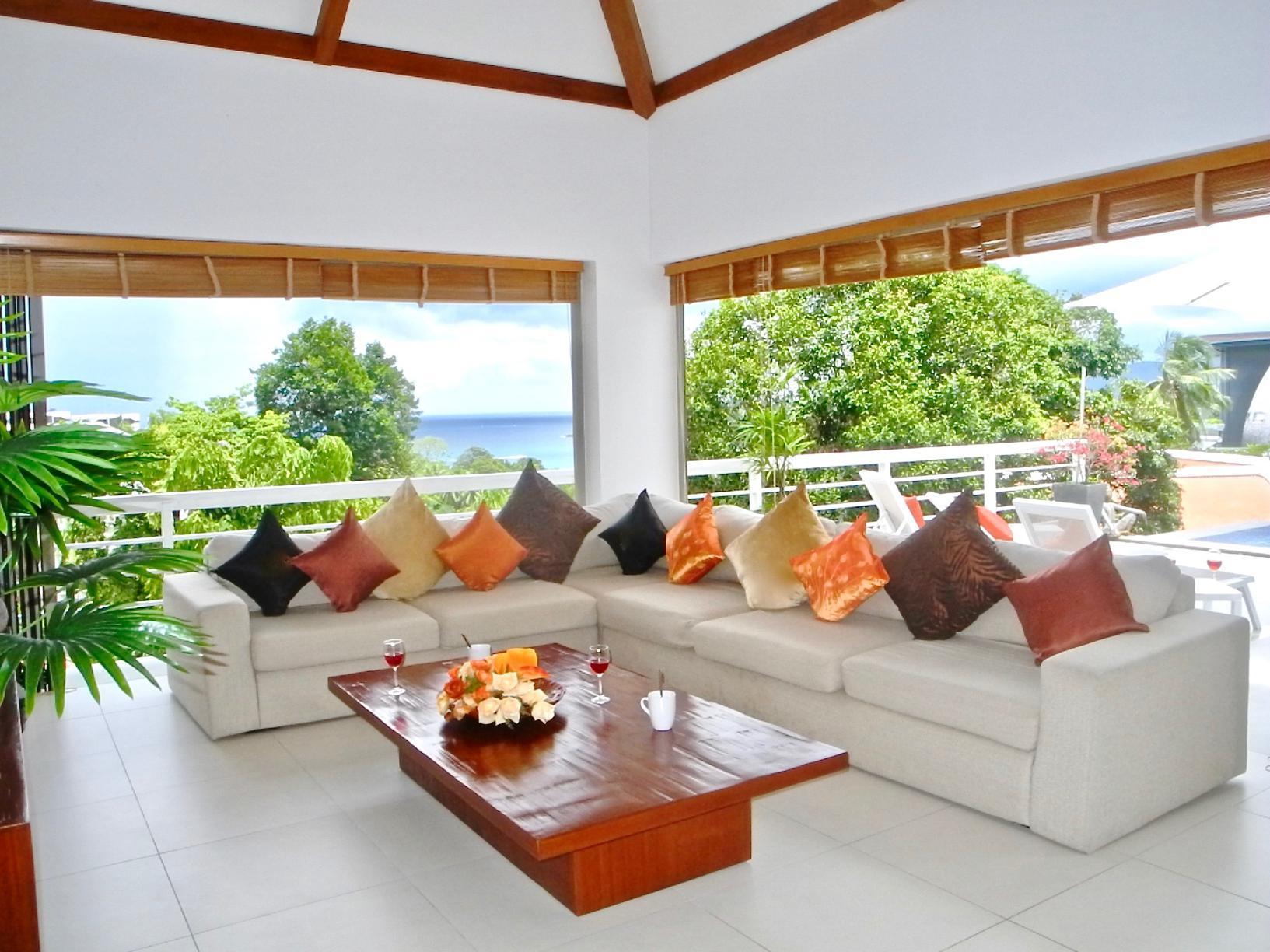 Private Pool Sea View Villa In Kata