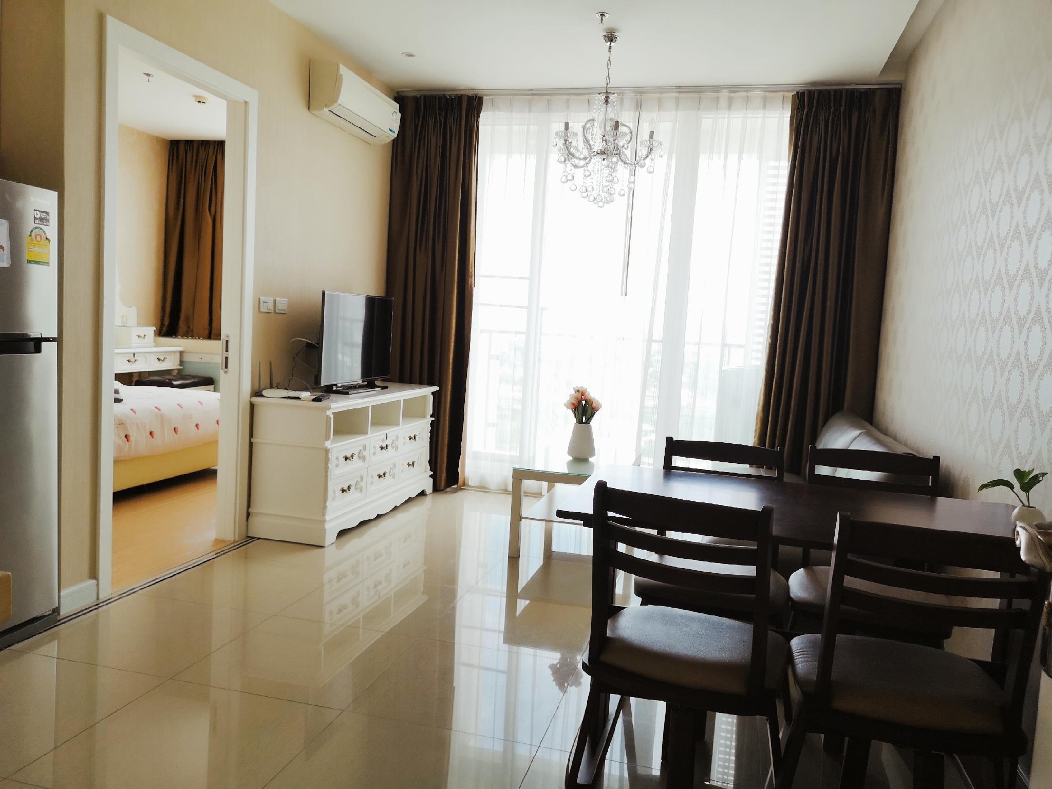 RCA RAMA9/sky pool /wifi/big 1bedroom อพาร์ตเมนต์ 1 ห้องนอน 1 ห้องน้ำส่วนตัว ขนาด 45 ตร.ม. – รัชดาภิเษก
