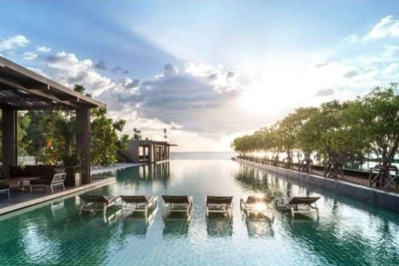 Pattaya, Na-Jomtien Condo for Rent อพาร์ตเมนต์ 1 ห้องนอน 1 ห้องน้ำส่วนตัว ขนาด 30 ตร.ม. – หาดจอมเทียน