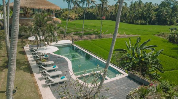 BEST VIEW Tranquil Yoga Resort 10 min to TanahLot  Bali