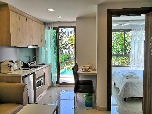 Arcadia Beach Resort Pool view suite อพาร์ตเมนต์ 1 ห้องนอน 1 ห้องน้ำส่วนตัว ขนาด 29 ตร.ม. – เขาพระตำหนัก