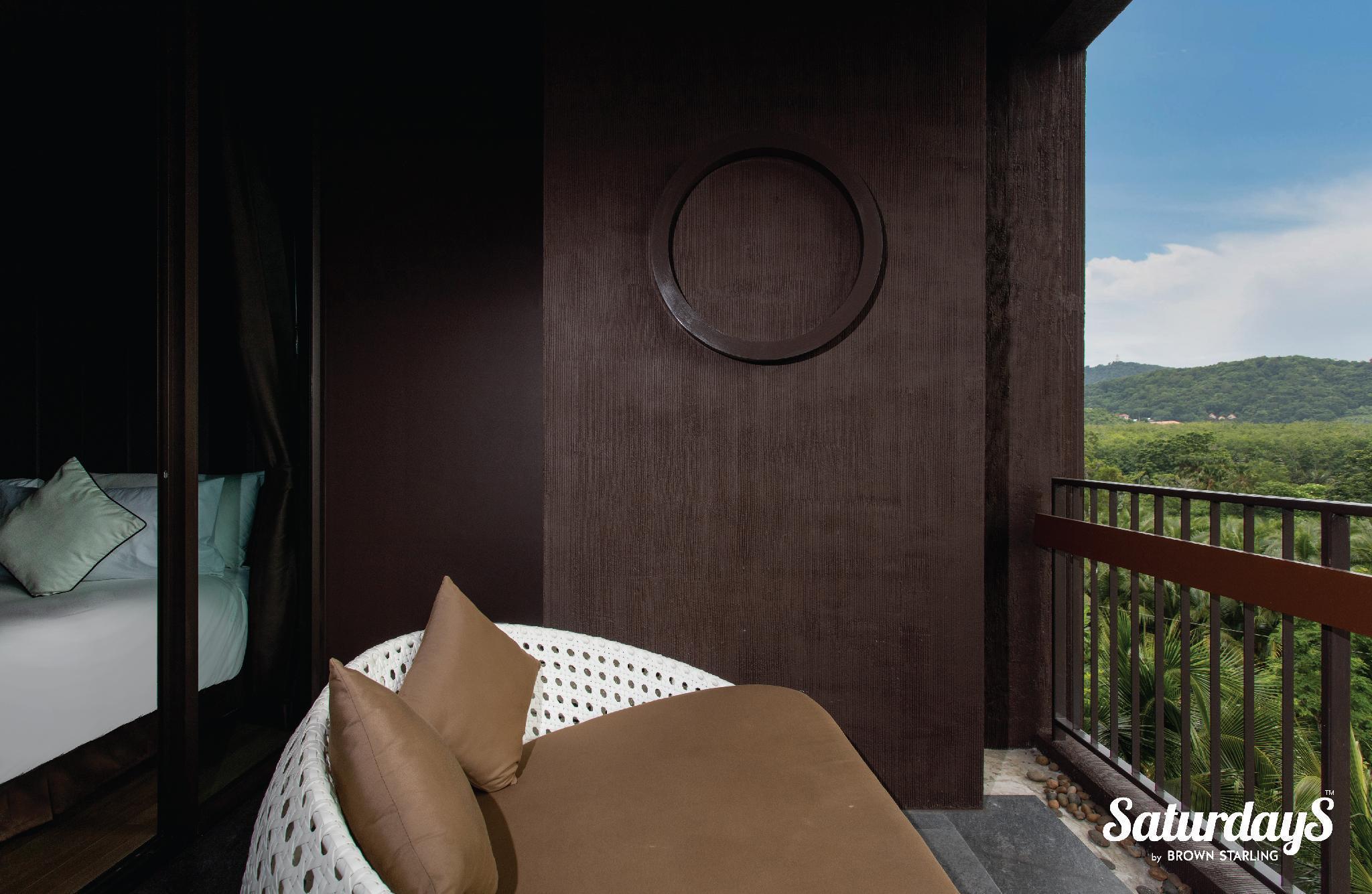 SW1 - Saturdays Residence 1BR Suite with balcony อพาร์ตเมนต์ 1 ห้องนอน 1 ห้องน้ำส่วนตัว ขนาด 56 ตร.ม. – หาดราไวย์