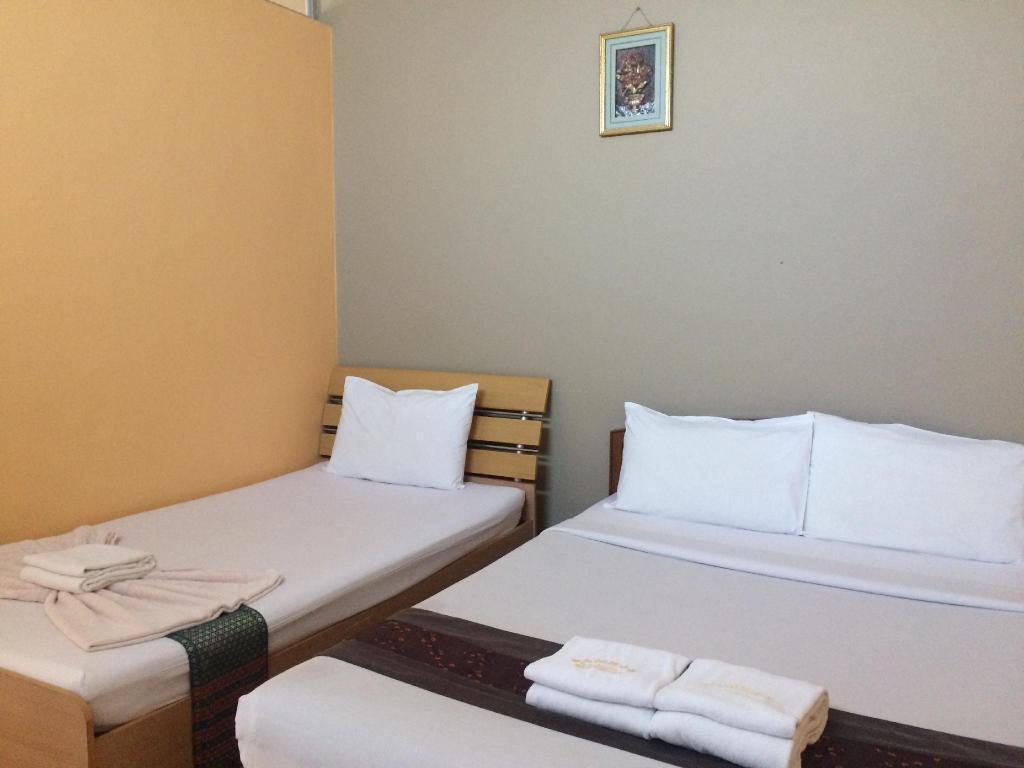Samran Residence - Triple Room อพาร์ตเมนต์ 1 ห้องนอน 1 ห้องน้ำส่วนตัว ขนาด 25 ตร.ม. – ตัวเมืองกระบี่