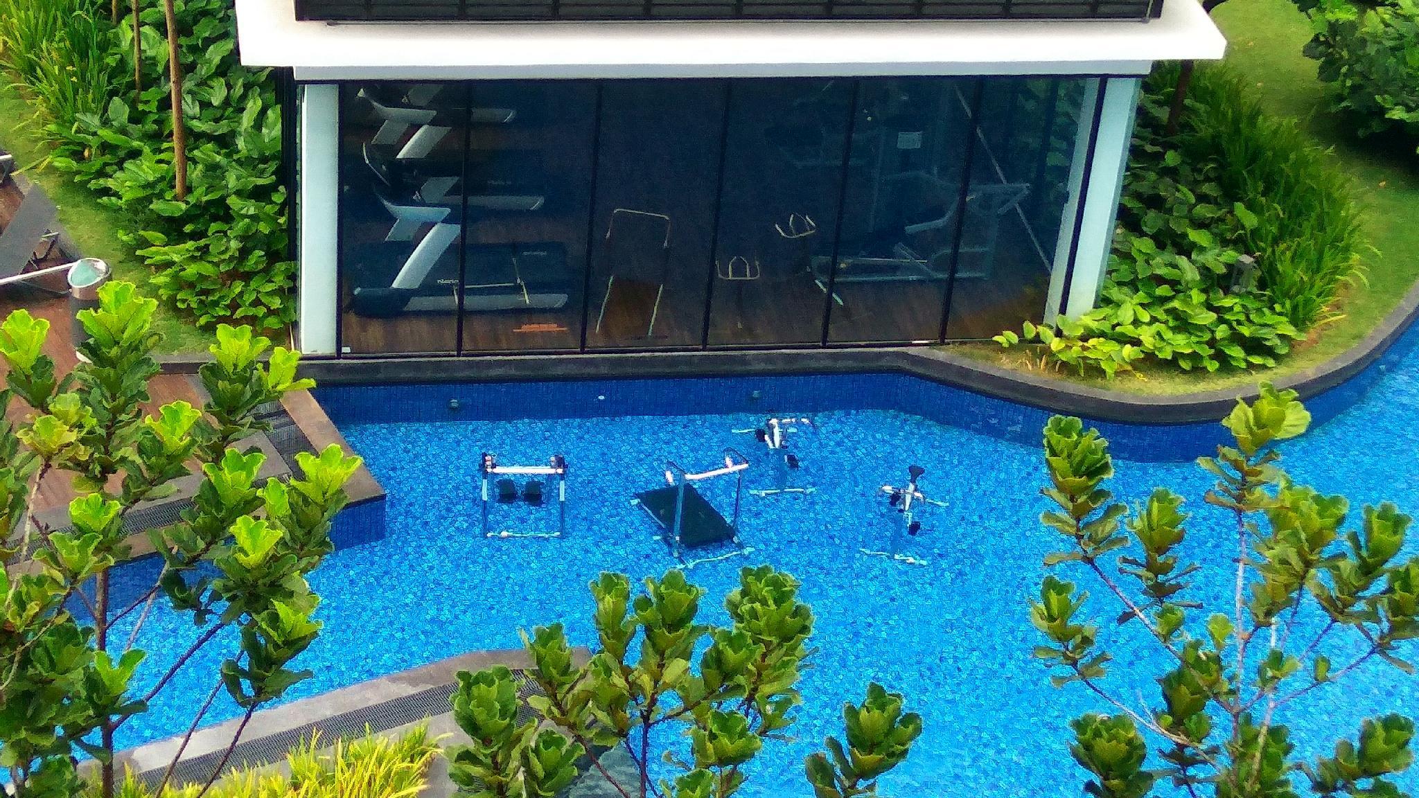 Pool Splash Loft Hana Resort Midhills  pool View