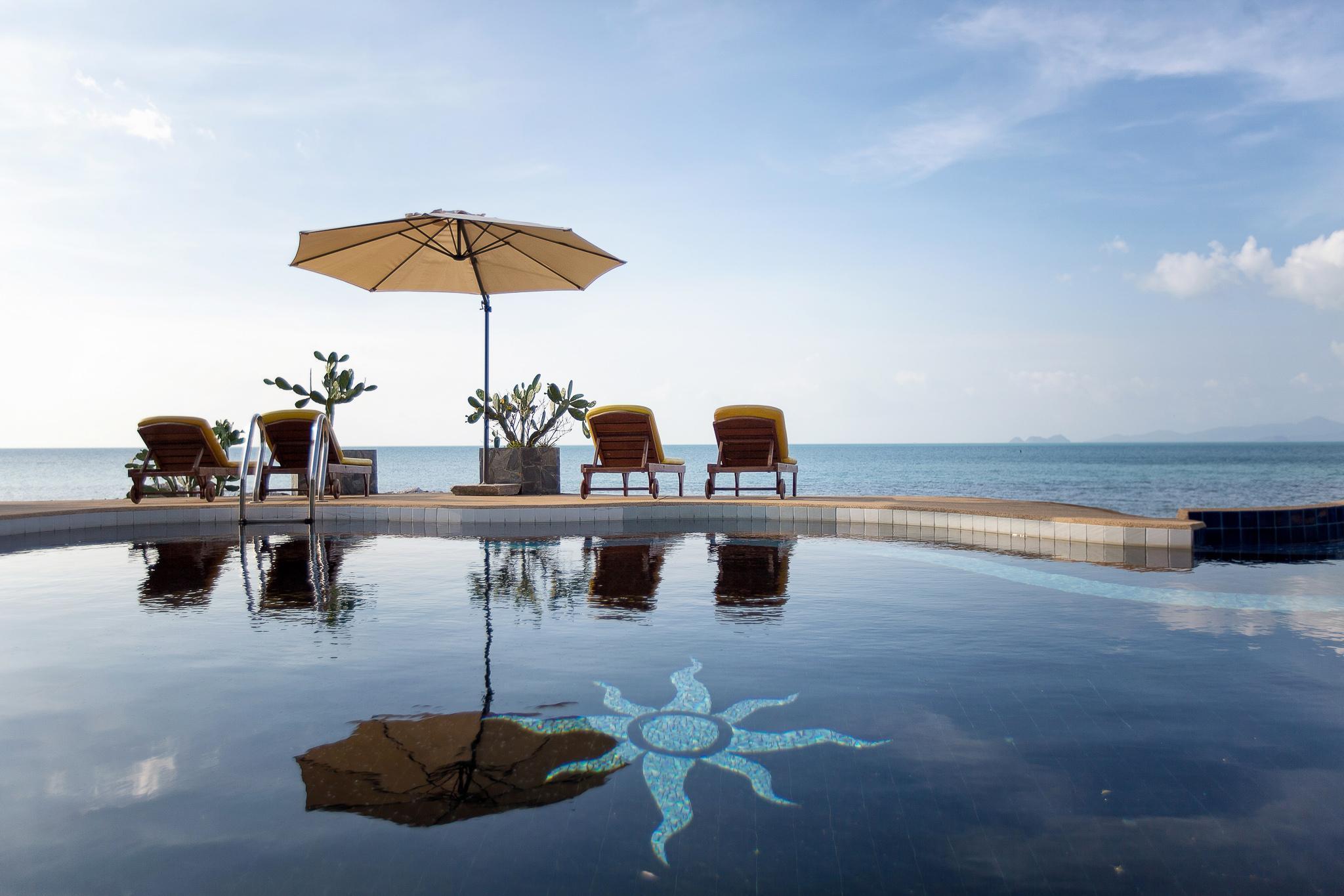 Villa Su- Absolute Sunset Beachfront Pool Villa วิลลา 9 ห้องนอน 10 ห้องน้ำส่วนตัว ขนาด 5800 ตร.ม. – หาดเฉวง