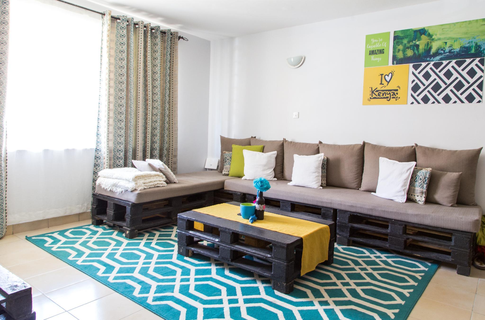 Sefu Furnished Apartment   Lime Green