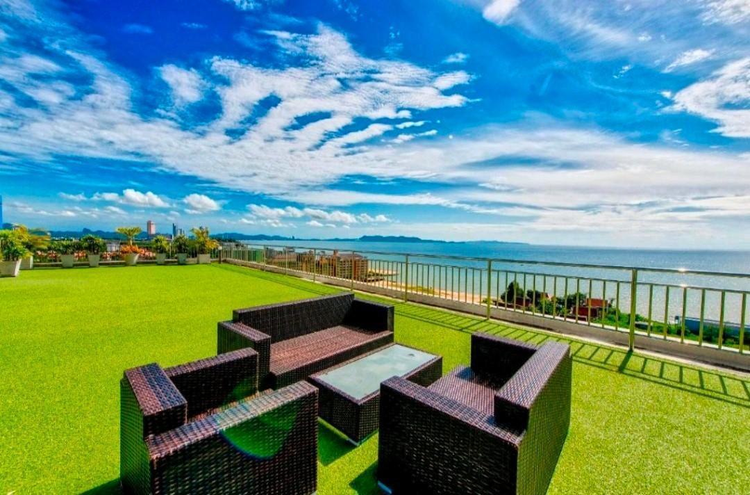 Brand New!! Honeymoon Ocean View Private Hideaway! สตูดิโอ อพาร์ตเมนต์ 1 ห้องน้ำส่วนตัว ขนาด 30 ตร.ม. – นาจอมเทียน