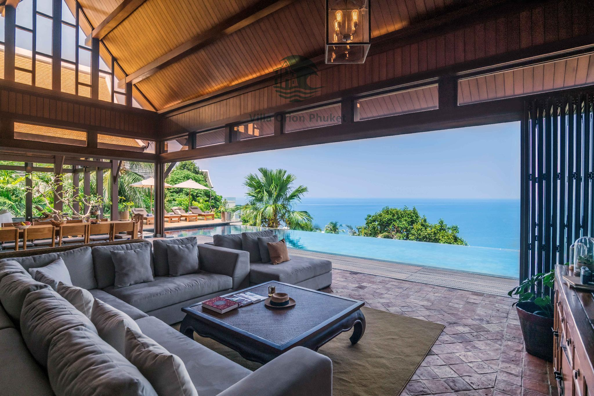 Phuket Villa Orion 5Bedroom Infinity pool วิลลา 5 ห้องนอน 5 ห้องน้ำส่วนตัว ขนาด 650 ตร.ม. – ในทอน