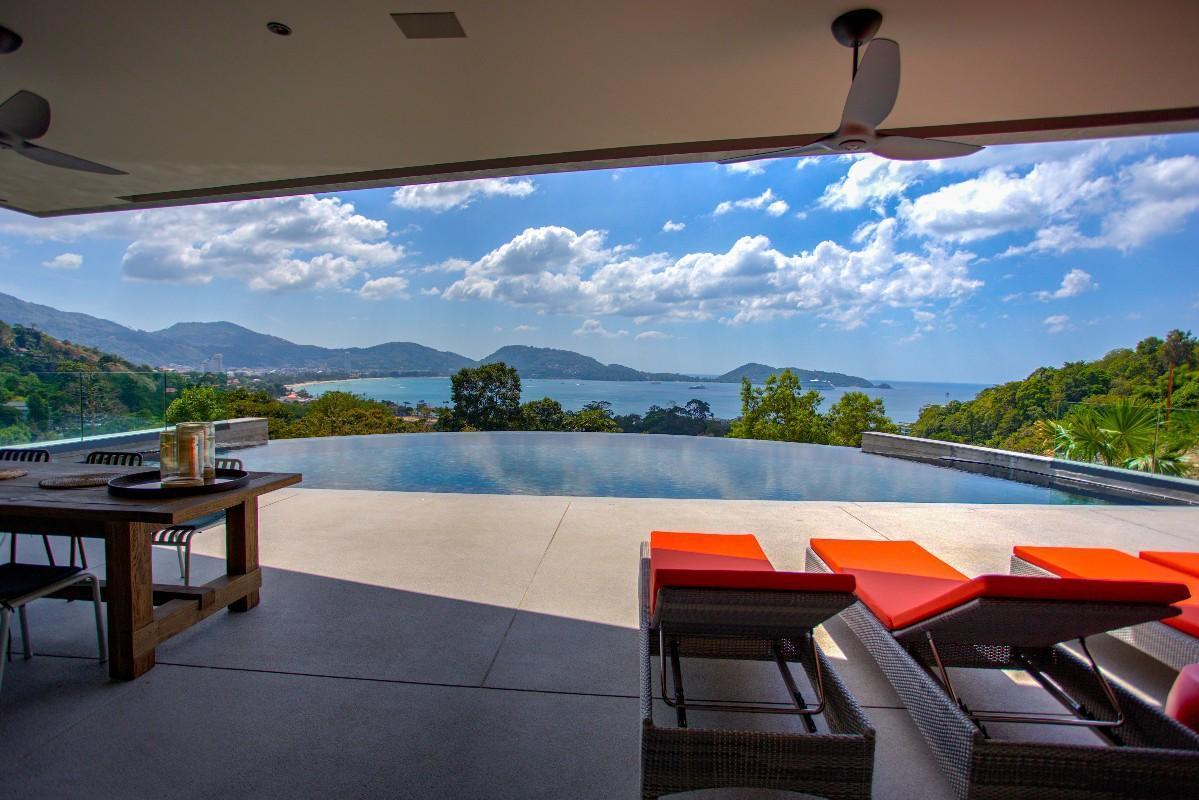 The Seascape Villa 3BR w/Infinity Pool &Ocean View วิลลา 3 ห้องนอน 3 ห้องน้ำส่วนตัว ขนาด 800 ตร.ม. – ป่าตอง