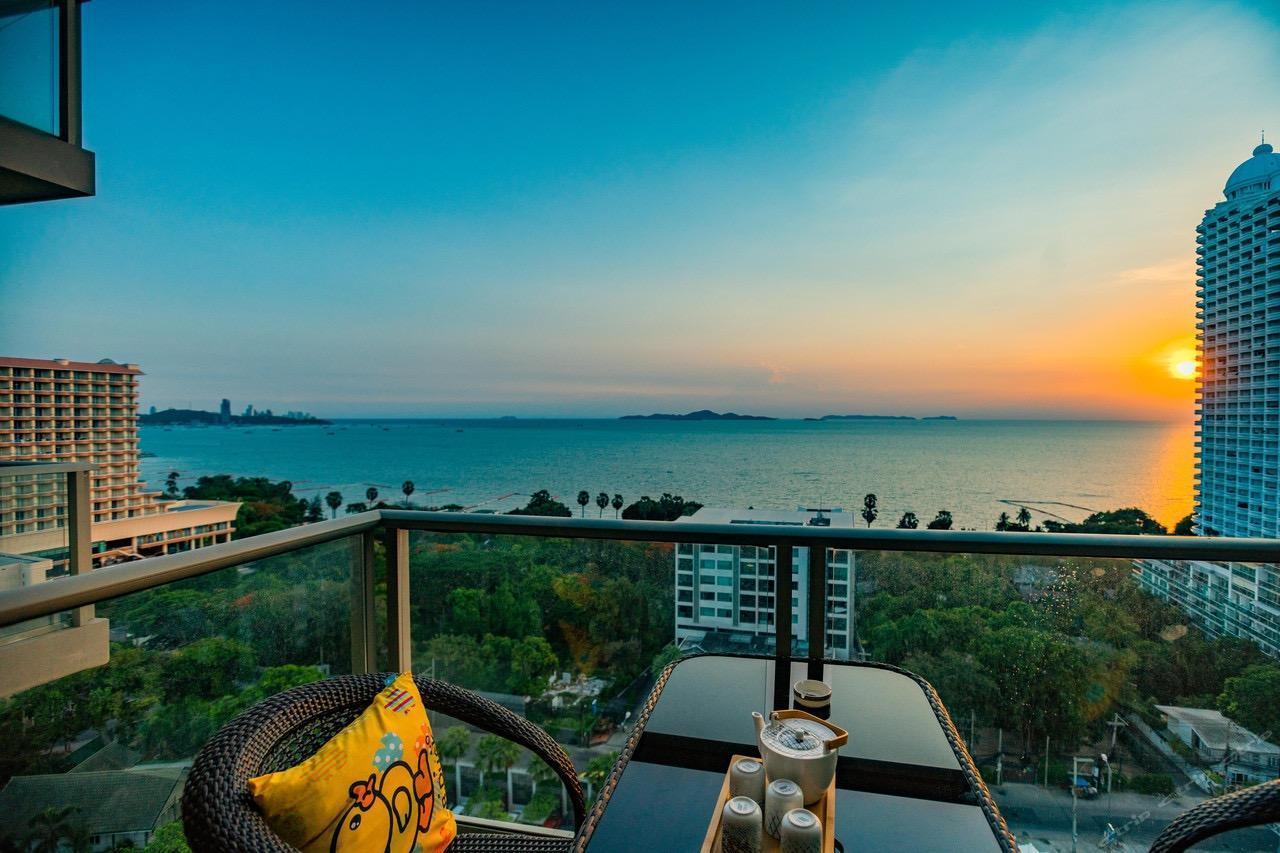 Pattaya Seaview Apartment Hotel อพาร์ตเมนต์ 1 ห้องนอน 1 ห้องน้ำส่วนตัว ขนาด 47 ตร.ม. – หาดวงอมาตย์