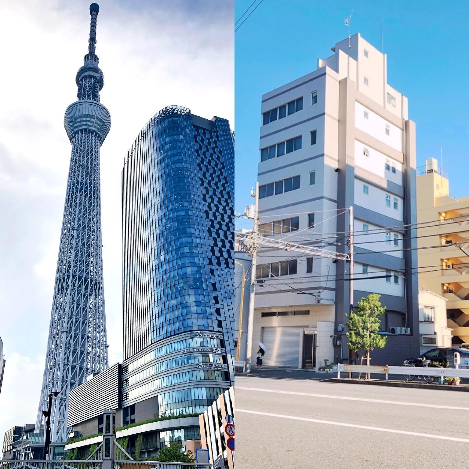 SKYTREE A5 Oshiage 5 Min Near Asakusa Kinshicho