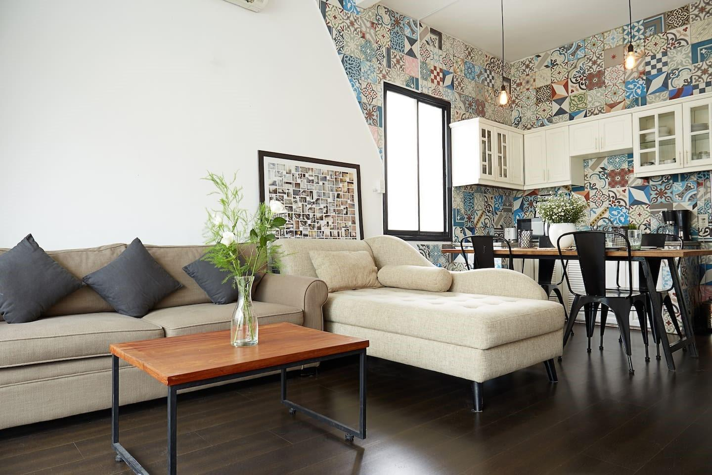 Super Central & Well Decorated 2 Br Apartment